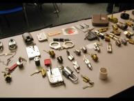 High security and rare locks on display for attendees to play with.